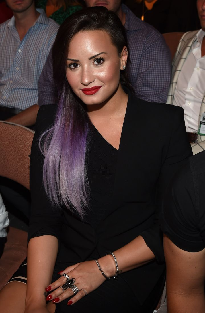 Love the purple ombre look.