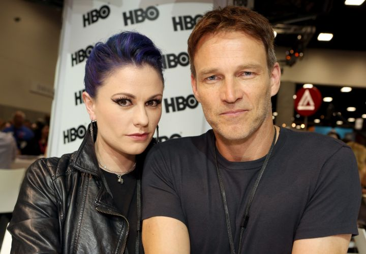 """""""True Blood"""" stars Anna Paquin and Stephen Moyer met on the set of the show."""