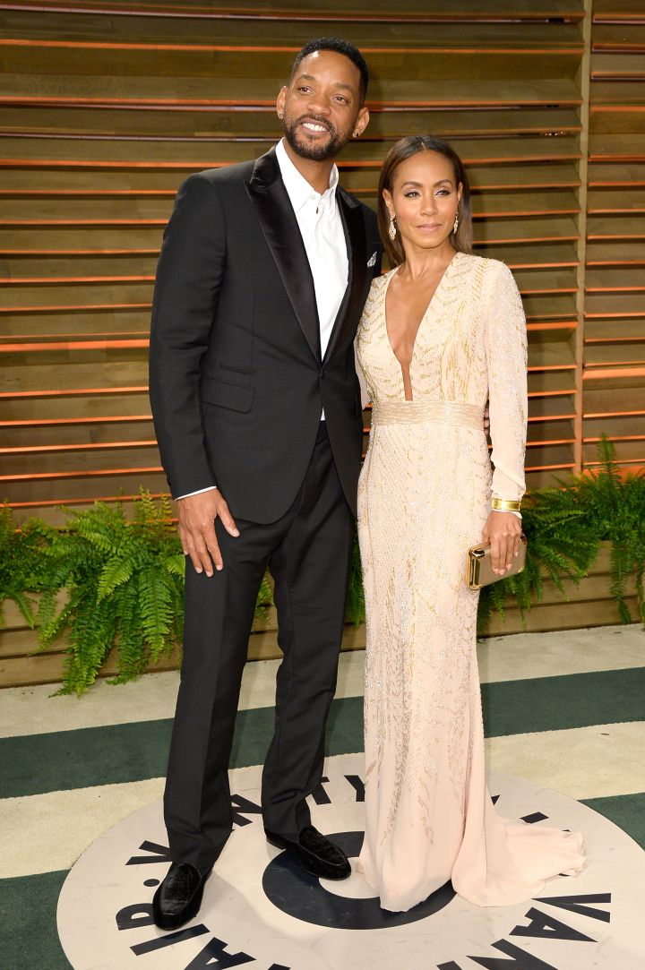 """Celebrity power-couple Will Smith and Jada Pinkett-Smith met on the set of Will's hit series """"The Fresh Prince Of Bel-Air."""""""