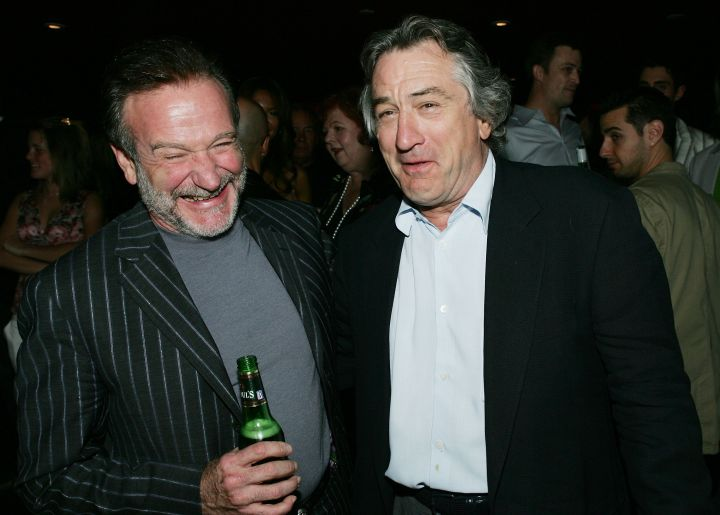 Robin Williams & Robert Deniro, 2005