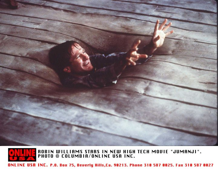 Robin Williams, Jumanji, 1995