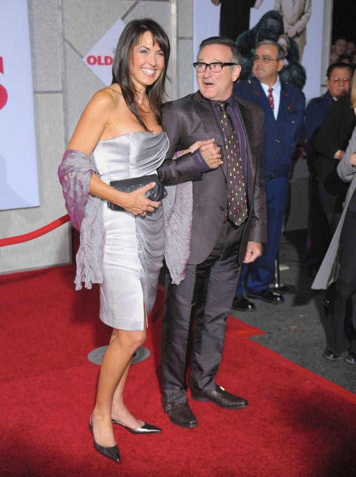 Robin Williams & wife Susan, 2009