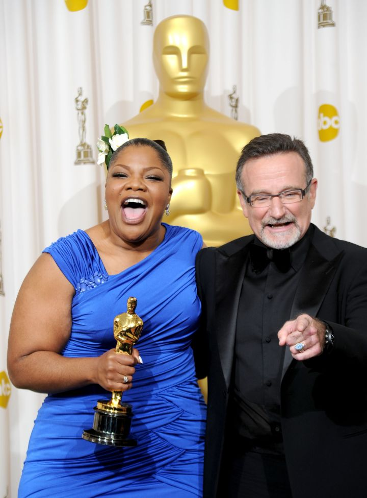 Robin Williams & Monique, 2010