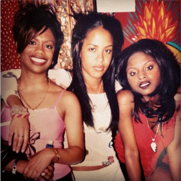 Super throwback of Aaliyah, Kandi, and Foxy Brown.