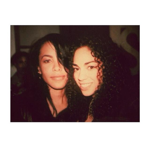 Aaliyah and Sharon Carpenter.