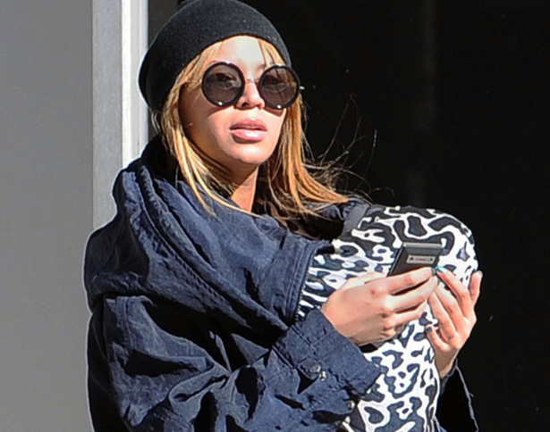 Beyonce breastfed Blue Ivy back in 2012.