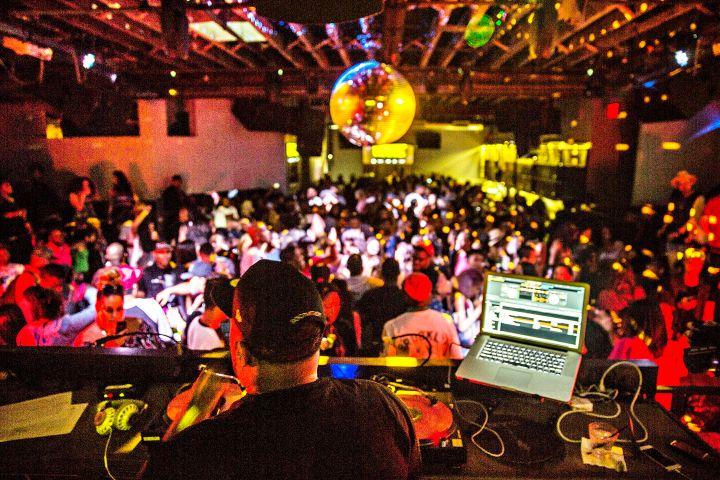 DJ Mustard Spinning At #SummerFridays In New York City.
