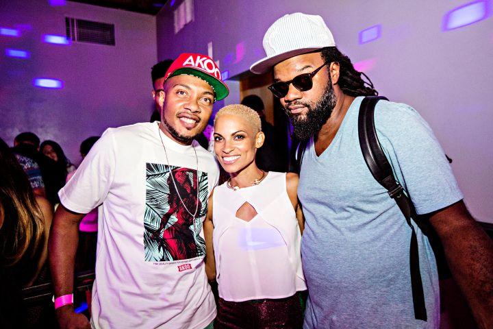 DJ Trauma, Soul Singer Goapele, & Coltrane