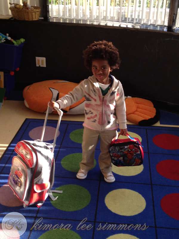 Kenzo Lee melts our hearts before his first day of school