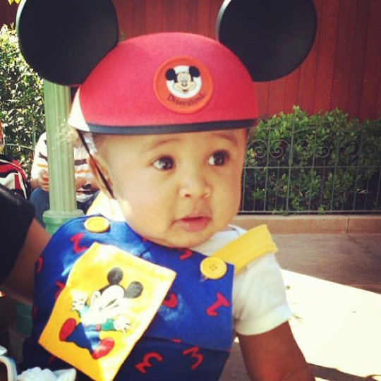 Tyga and Blac Chyna's son King Cairo is one pretty baby!