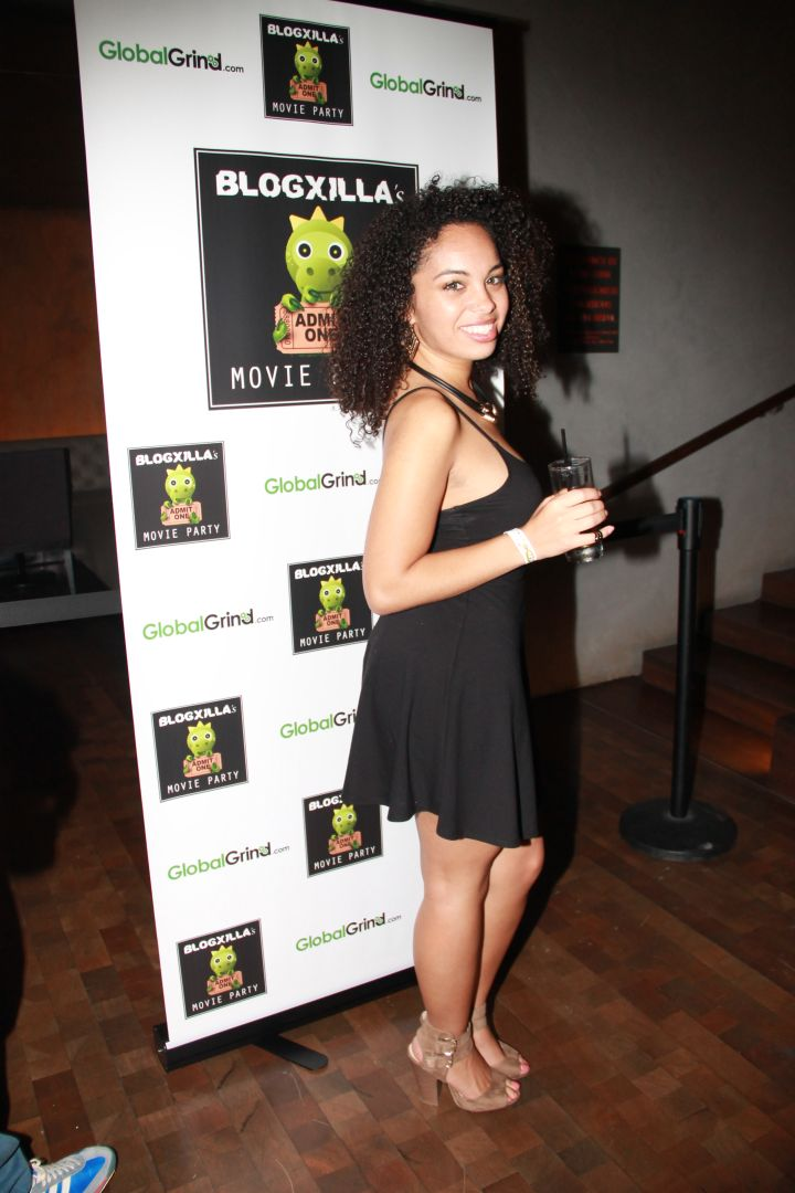 Camery at the BlogXilla Movie Party.
