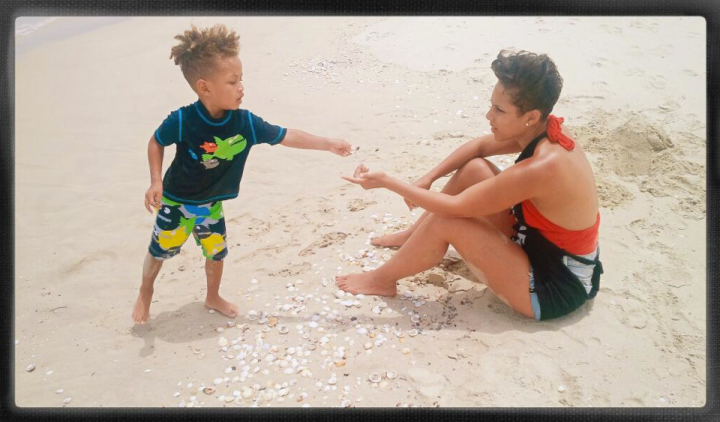 Alicia Keys & Swizz Beats son Egypt is too cute!