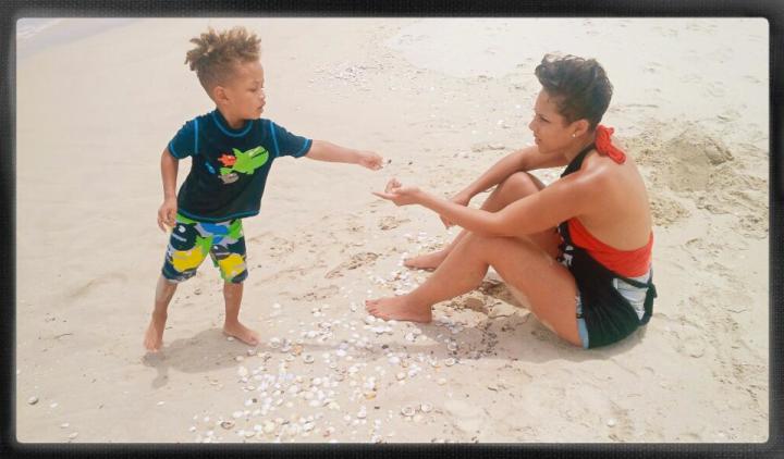 Alicia Keys & Swizz Beats son Egypt is too cute!