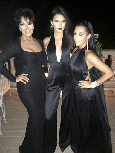 The Kardashian ladies dressed to impress!