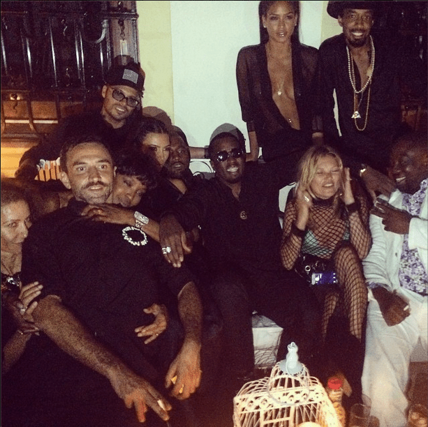 Cassie, Diddy, and more hang out in Ibiza for Riccardo Tisci's birthday!