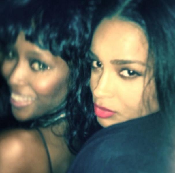 Ciara and Naomi Campbell hang out in Ibiza