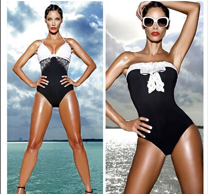 Nicole Can Rock A Bikini Or A One Piece & Still Look Awesome