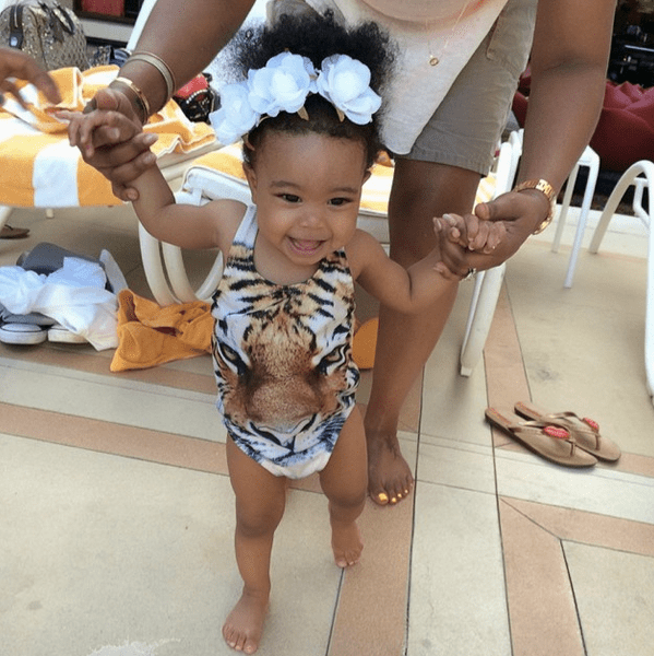Monica and Shannon Brown are beautiful people and can make just as beautiful their baby girl Laiyah!