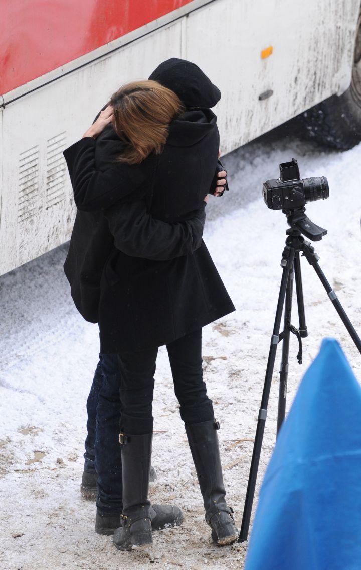 How sweet that hug looks.