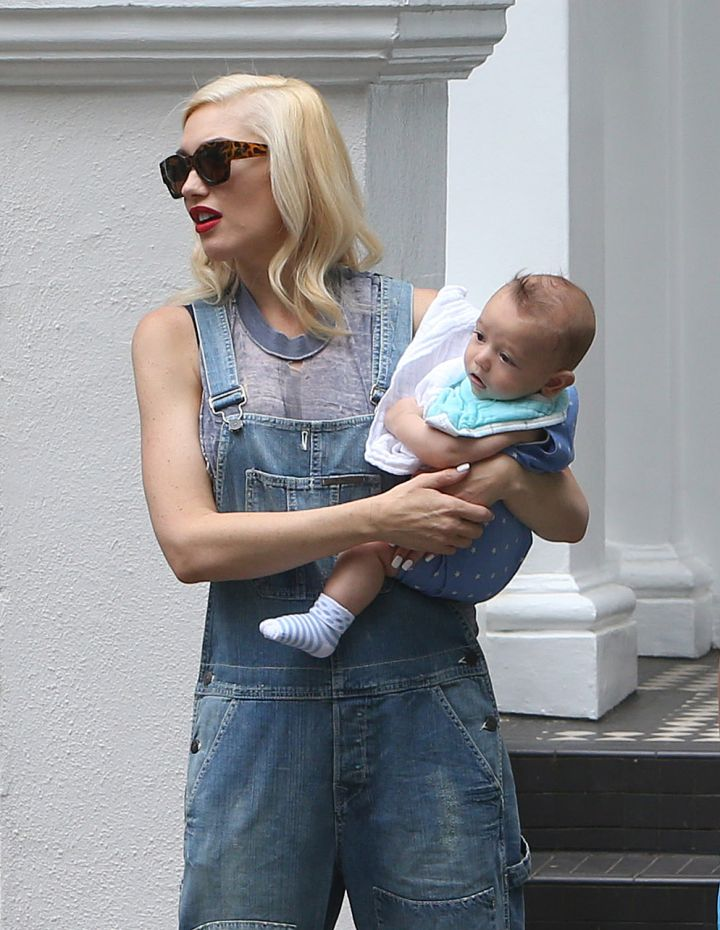 Gwen Stefani's son Apollo is a bundle of cuteness!