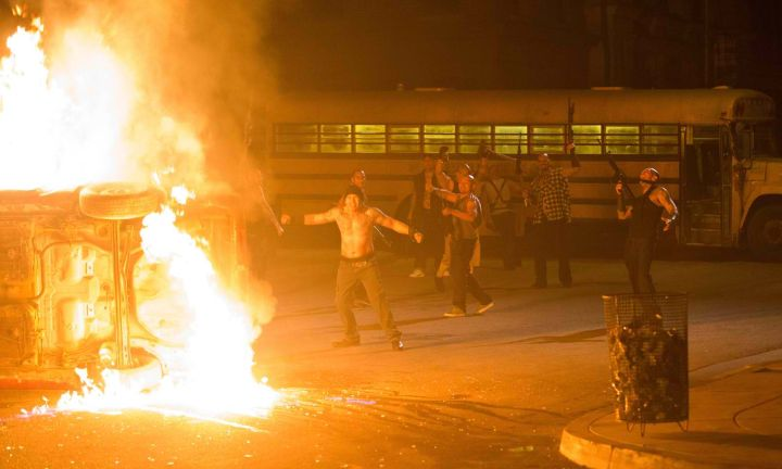 """""""The Purge Anarchy"""" looks way too much like what's going on in Ferguson right now."""