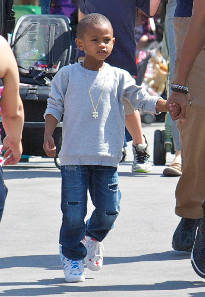 Usher's first born Usher Raymond V is a spitting image of the R&B cutie!