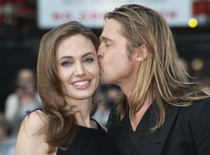 Kisses for Angelina!