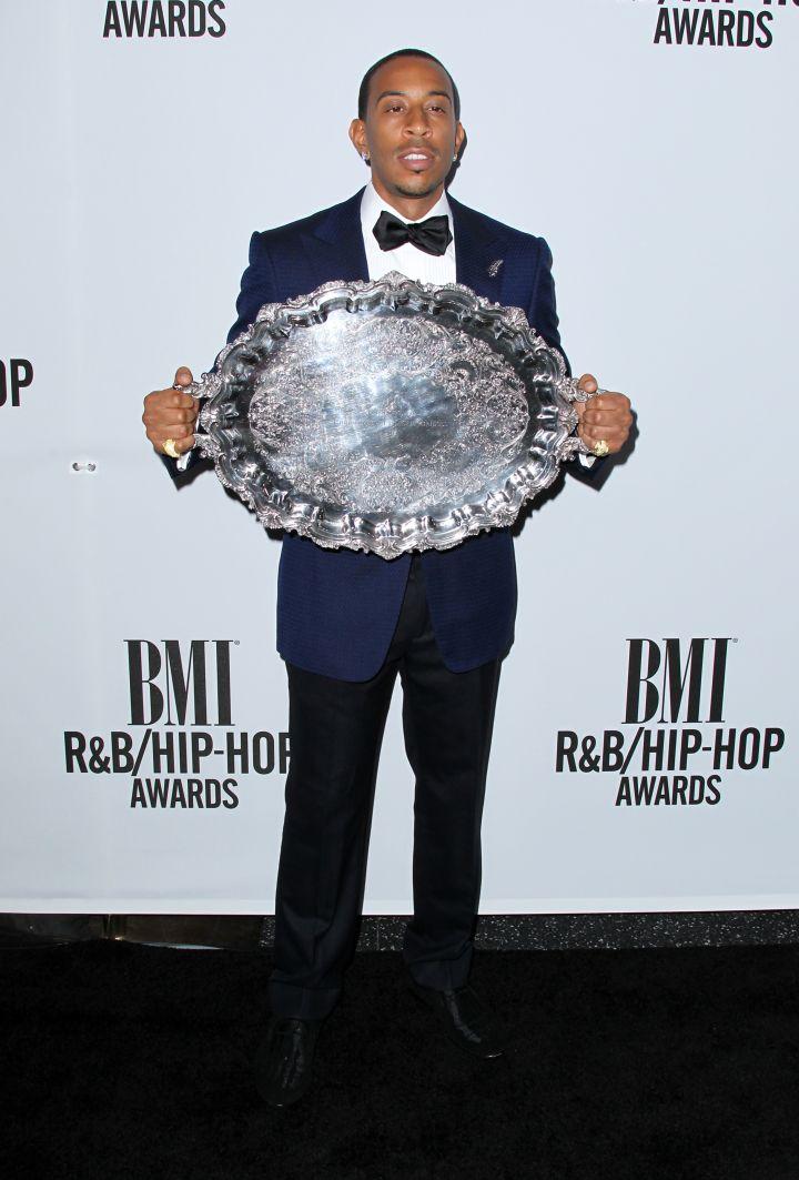 Ludacris receives the President's Award.