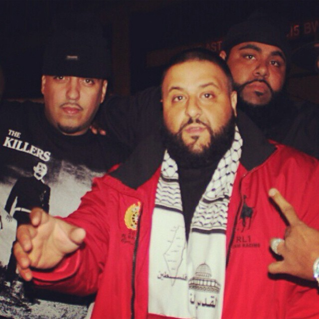 DJ Khaled likes hanging out with Stacks, too.