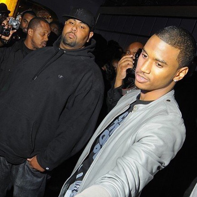 Trey Songz and Stacks are biffles.