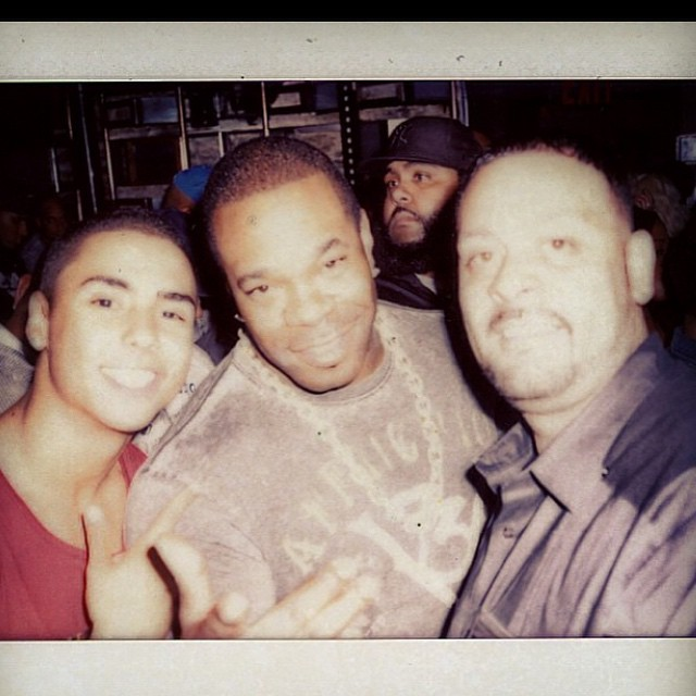 Quincy, Busta Rhymes, and James Cruz. And Stacks.