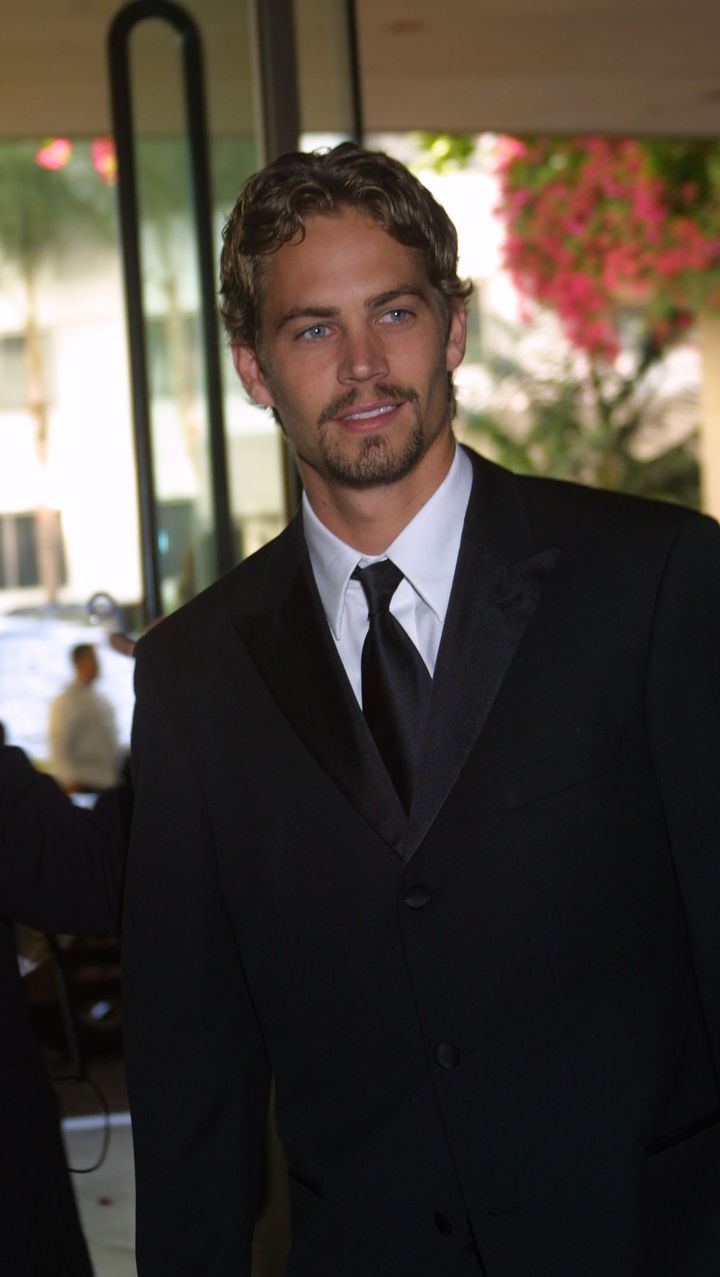 Paul suits up for the Hollywood Film Festival in 2001.