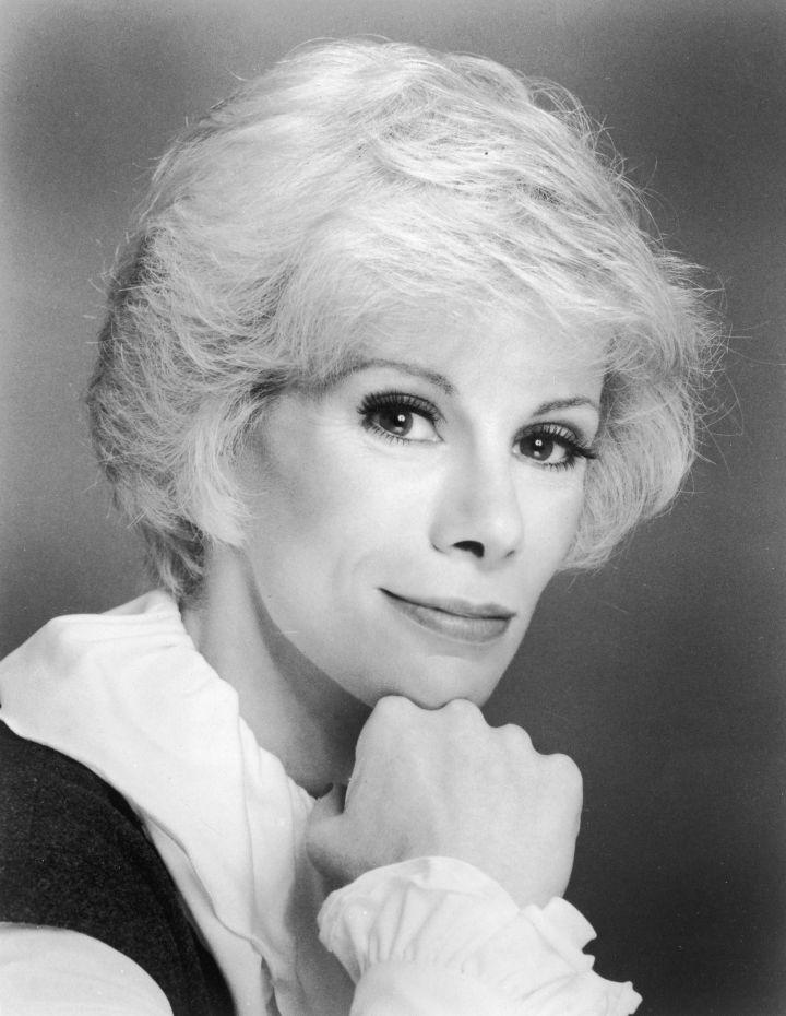 Joan Rivers' headshot from 1960.