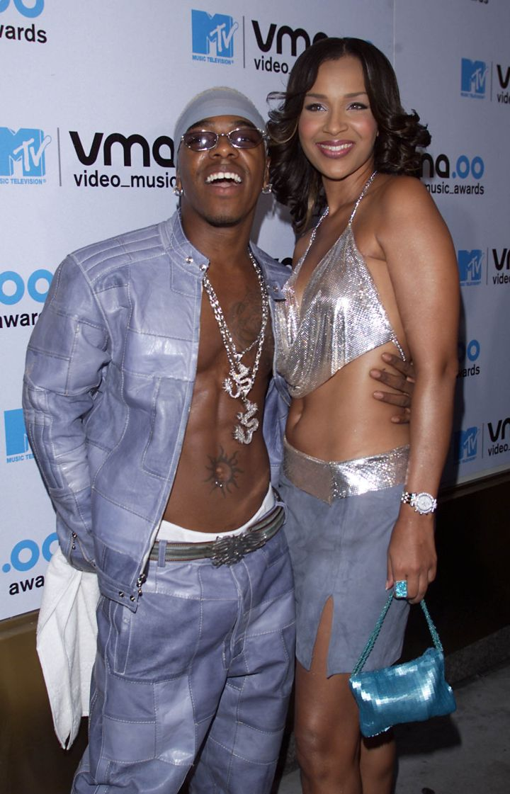 Sisqo & Lisa Raye At The MTV VMAs.