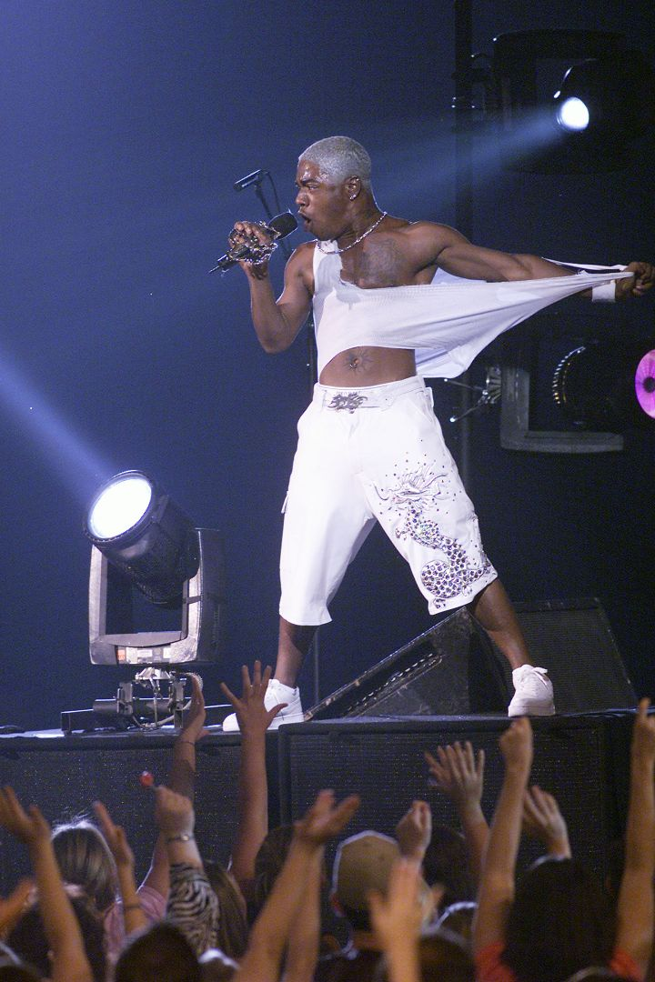 Don't Mind Sisqo, He's Just Ripping Off His Shirt For The Ladies.
