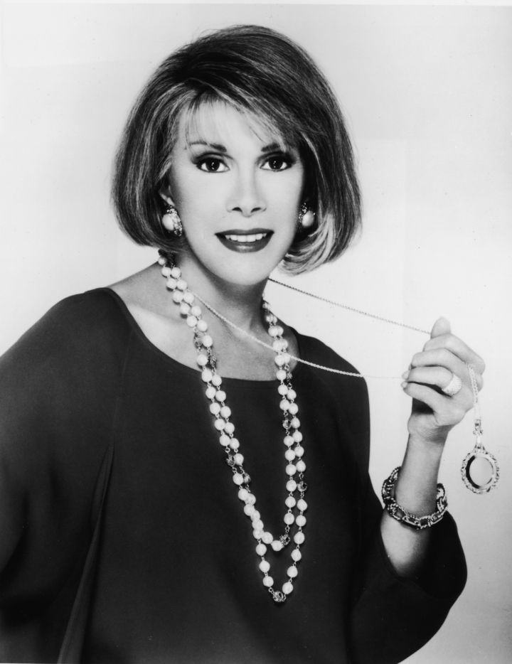Before she was shocking viewers and celebrities alike, Joan was a famed Hollywood actress.