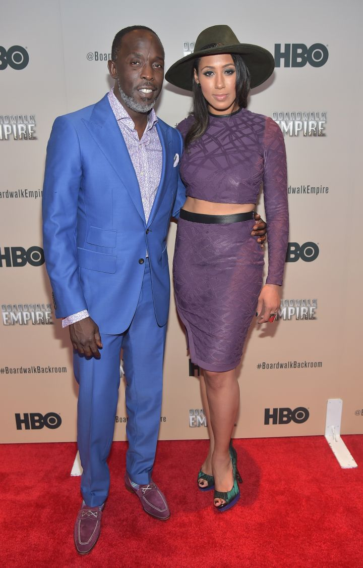 Michael & Margot On HBO's #BoardwalkBackroom Red Carpet