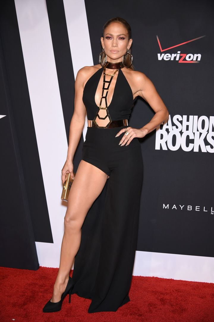 Bringing the sexy to Fashion Rocks.