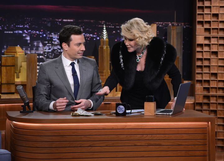 """Rivers takes over """"Late Night With Jimmy Fallon."""""""
