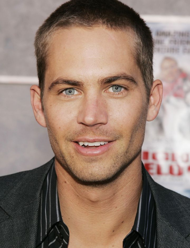 """A close-up of Paul at the premiere of Disney's """"Eight Below"""" in 2006."""
