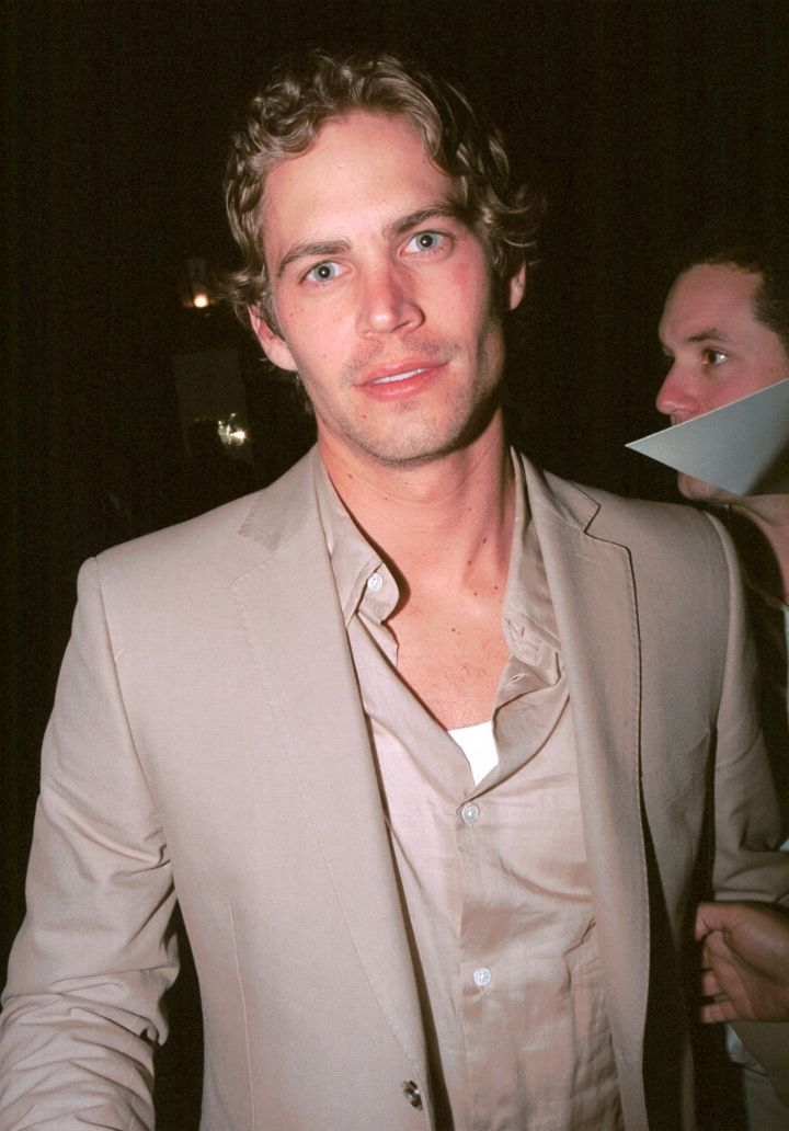 Walker and other celebrities party the night away after the 2002 Oscar's.