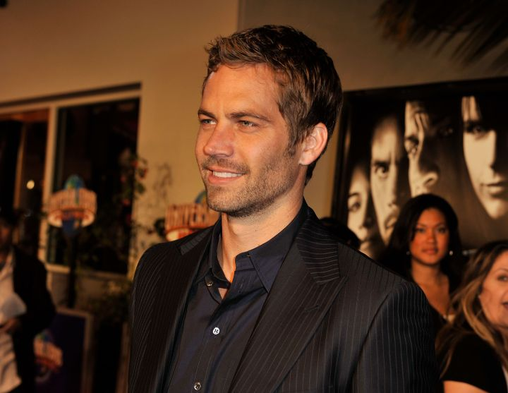 """Paul proudly struts down the red carpet at the """"Fast & Furious"""" premiere in 2008."""