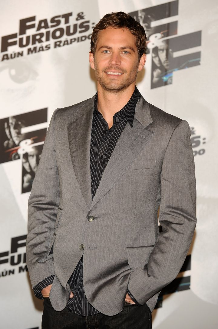 """Paul at the """"Fast & Furious"""" premiere in Madrid in 2009."""