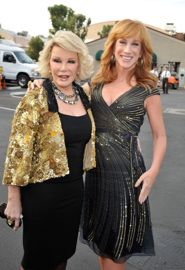 For her 76th birthday, Joan's closest friends and fellow comedians gathered for a Comedy Central Roast.