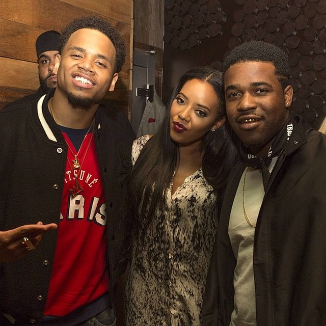 Mack Wilds, Angela Simmons, and A$AP Ferg. We see you.