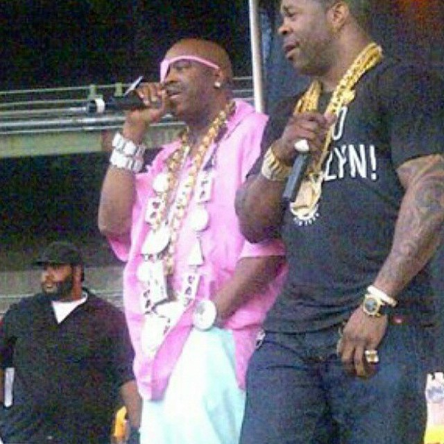Slick Rick and Busta. There he is again.