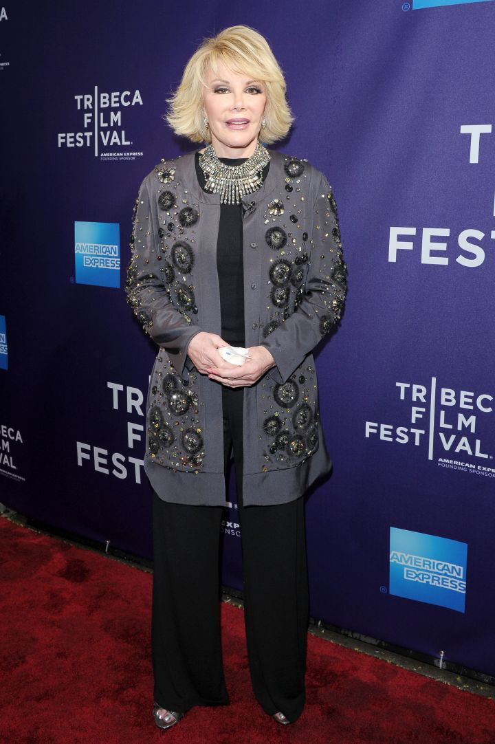 """The fashion-mogul takes on Tribeca Talks to discuss """"Joan Rivers A Piece Of Work."""""""