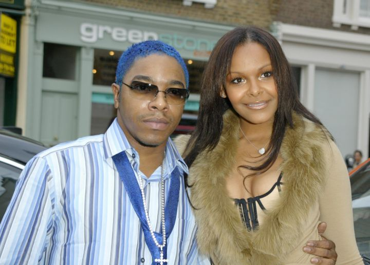 Sisqo and his former girlfriend, singer Samantha Mumba.