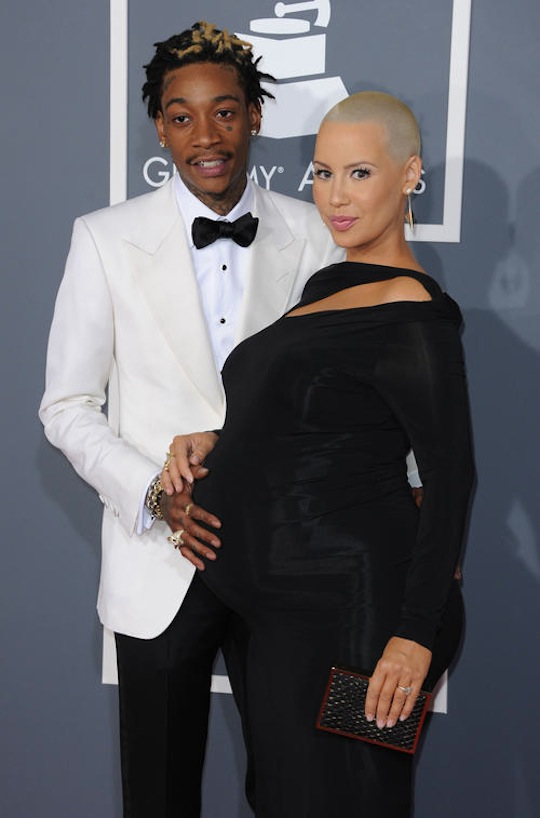 Amber was about to pop at the 2013 Grammys.