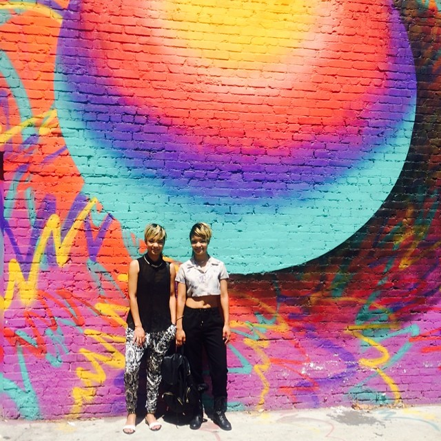Jas and Ness are always at the dopest spots in L.A.